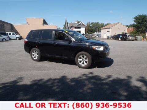 2008 Toyota Highlander for sale at Lee Motor Sales Inc. in Hartford CT