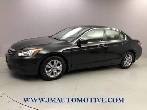 2012 Honda Accord for sale at J & M Automotive in Naugatuck CT