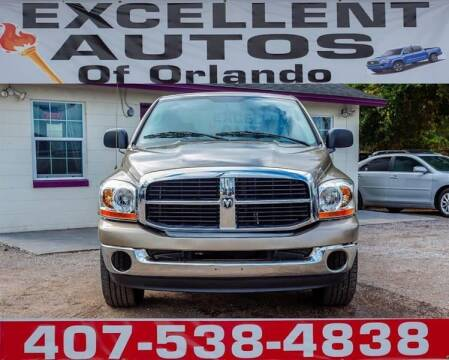 2006 Dodge Ram Pickup 1500 for sale at Excellent Autos of Orlando in Orlando FL