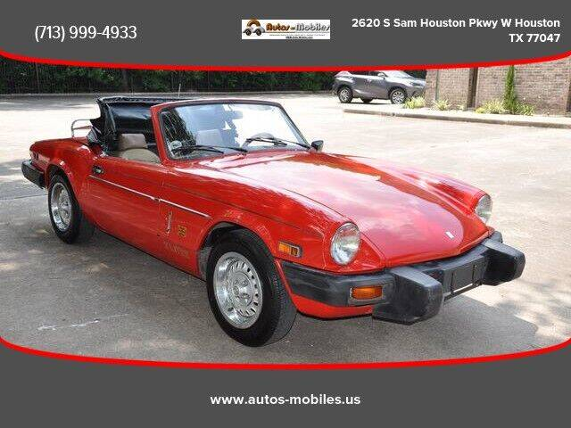1979 Triumph Spifire for sale at AUTOS-MOBILES in Houston TX