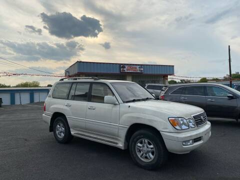 1998 Lexus LX 470 for sale at FIESTA MOTORS in Hagerstown MD