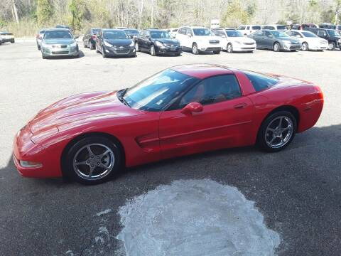 1997 Chevrolet Corvette for sale at WALKER MOTORS LLC in Hattiesburg MS