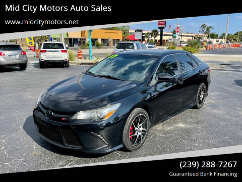 2017 Toyota Camry for sale at Mid City Motors Auto Sales in Fort Myers FL