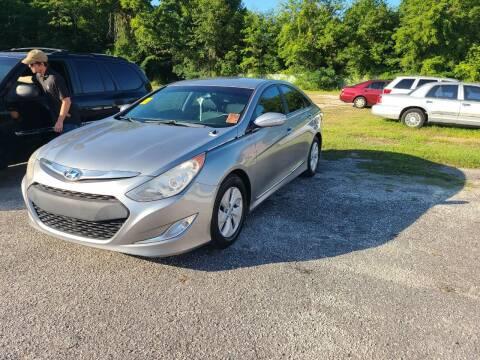 2014 Hyundai Sonata Hybrid for sale at Mott's Inc Auto in Live Oak FL