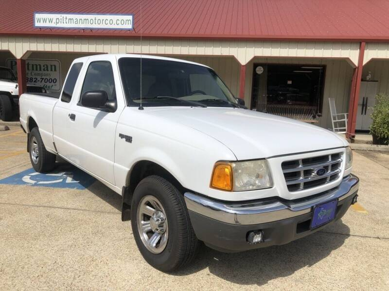 2001 Ford Ranger for sale at PITTMAN MOTOR CO in Lindale TX