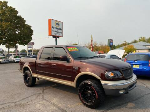 2001 Ford F-150 for sale at TDI AUTO SALES in Boise ID