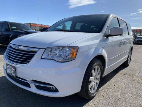 2014 Chrysler Town and Country for sale at BERKENKOTTER MOTORS in Brighton CO