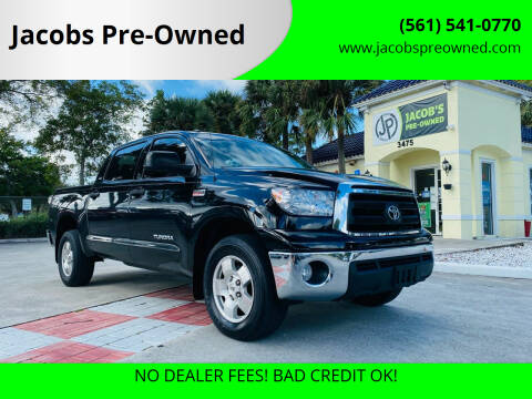 2013 Toyota Tundra for sale at Jacobs Pre-Owned in Lake Worth FL