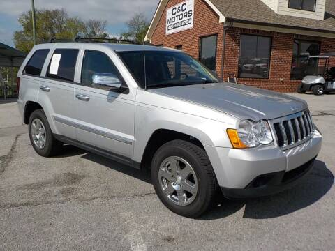 2010 Jeep Grand Cherokee for sale at C & C MOTORS in Chattanooga TN