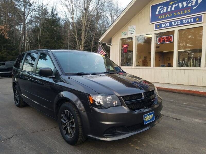 2015 Dodge Grand Caravan for sale at Fairway Auto Sales in Rochester NH