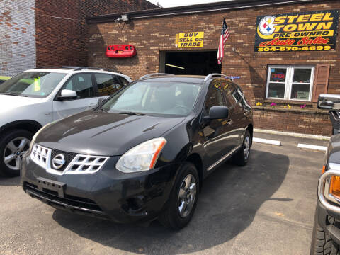 2012 Nissan Rogue for sale at STEEL TOWN PRE OWNED AUTO SALES in Weirton WV