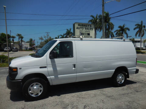 2011 Ford E-Series Cargo for sale at Aubrey's Auto Sales in Delray Beach FL