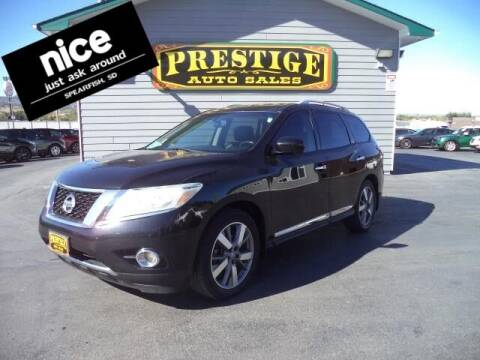 2014 Nissan Pathfinder for sale at PRESTIGE AUTO SALES in Spearfish SD