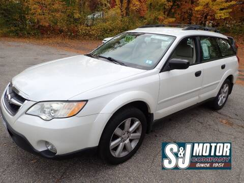 2008 Subaru Outback for sale at S & J Motor Co Inc. in Merrimack NH