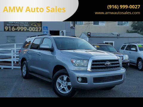 2014 Toyota Sequoia for sale at AMW Auto Sales in Sacramento CA