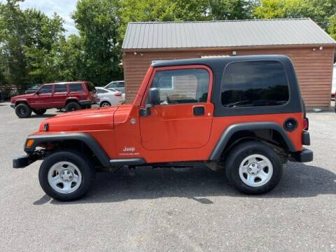 2005 Jeep Wrangler for sale at Super Cars Direct in Kernersville NC