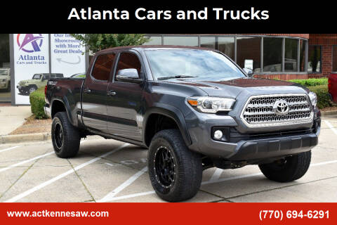 2016 Toyota Tacoma for sale at Atlanta Cars and Trucks in Kennesaw GA