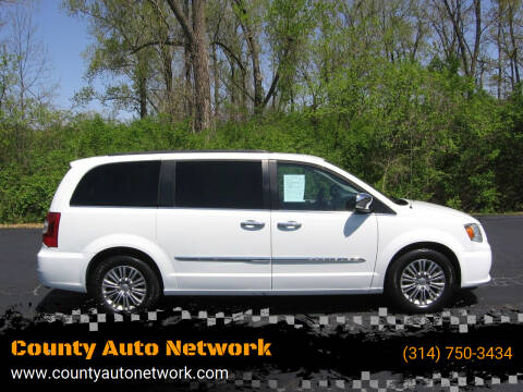 2016 Chrysler Town and Country for sale at County Auto Network in Ballwin MO