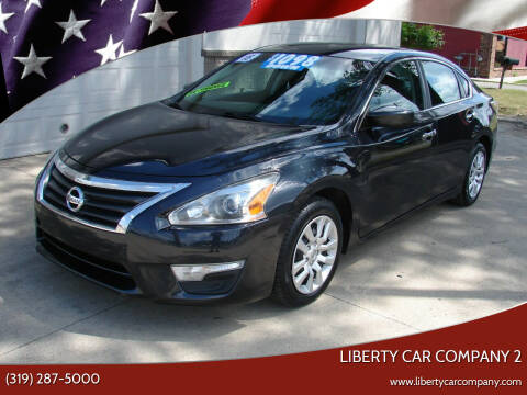 2015 Nissan Altima for sale at Liberty Car Company - II in Waterloo IA