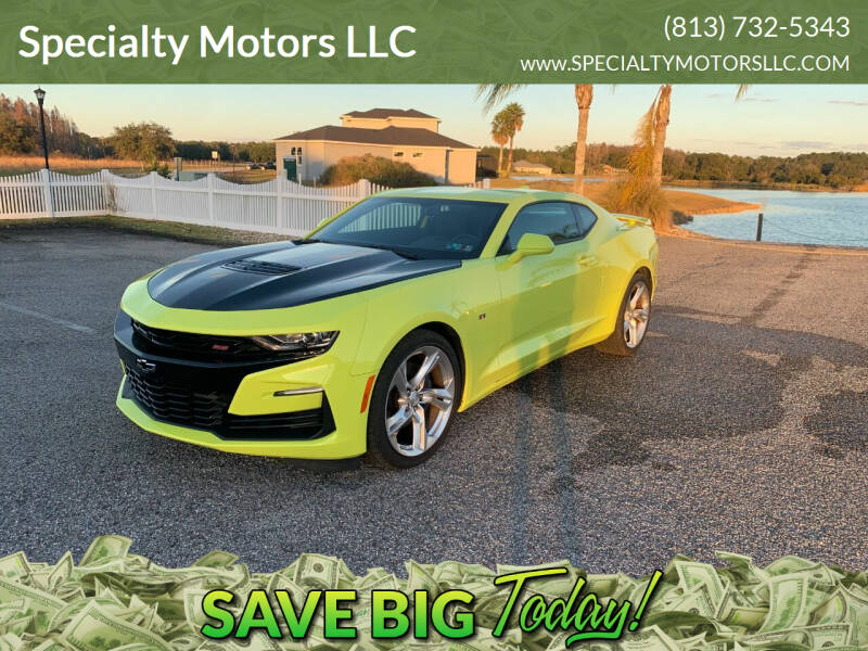 2020 Chevrolet Camaro for sale at Specialty Motors LLC in Land O Lakes FL