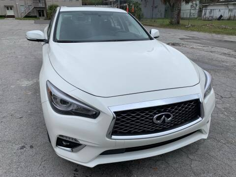 2019 Infiniti Q50 for sale at Consumer Auto Credit in Tampa FL
