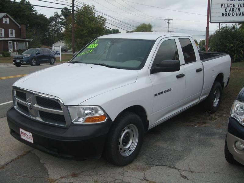 2011 RAM Ram Pickup 1500 for sale at Joks Auto Sales & SVC INC in Hudson NH