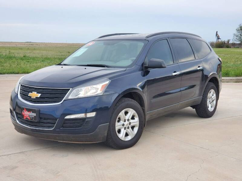 2016 Chevrolet Traverse for sale at Chihuahua Auto Sales in Perryton TX