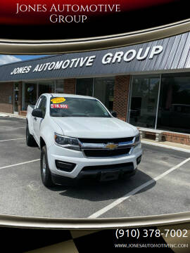 2016 Chevrolet Colorado for sale at Jones Automotive Group in Jacksonville NC