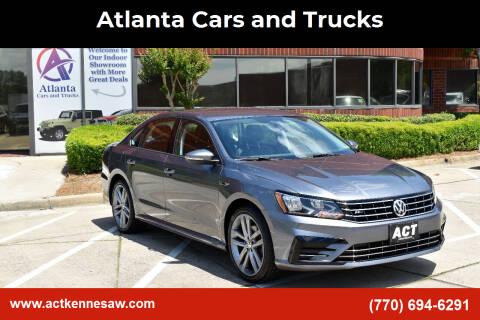 2018 Volkswagen Passat for sale at Atlanta Cars and Trucks in Kennesaw GA