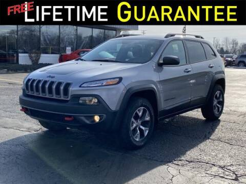 2015 Jeep Cherokee for sale at Vicksburg Chrysler Dodge Jeep Ram in Vicksburg MI