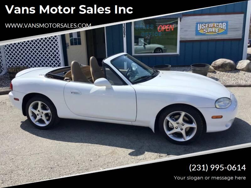 2002 Mazda MX-5 Miata for sale at Vans Motor Sales Inc in Traverse City MI