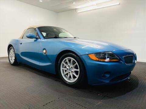 2003 BMW Z4 for sale at Champagne Motor Car Company in Willimantic CT