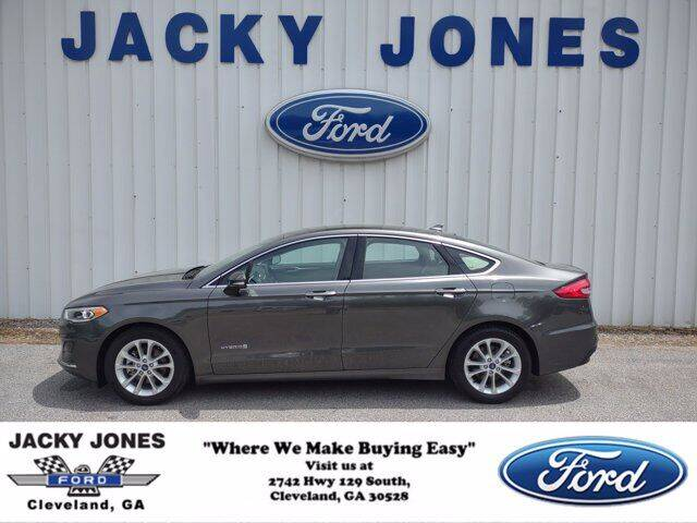 2019 Ford Fusion Hybrid for sale in Cleveland, GA