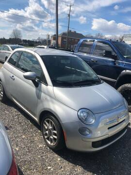 2012 FIAT 500 for sale at SOUTHERN YORK MOTORS in New Freedom PA