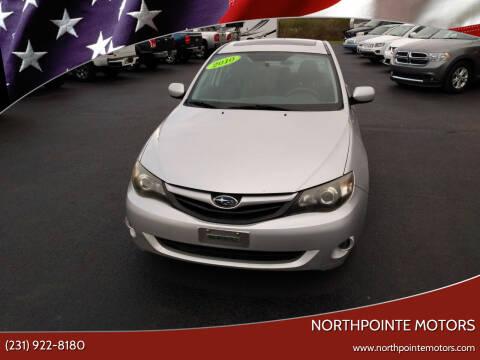 2010 Subaru Impreza for sale at Northpointe Motors in Kalkaska MI