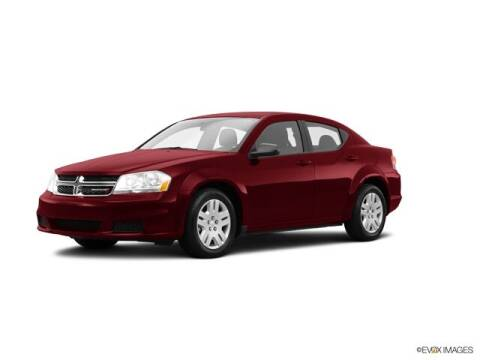2014 Dodge Avenger for sale at CHAPARRAL USED CARS in Piney Flats TN