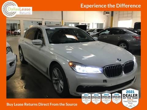 2016 BMW 7 Series for sale at Dallas Auto Finance in Dallas TX