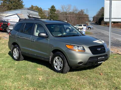 2009 Hyundai Santa Fe for sale at Saratoga Motors in Gansevoort NY