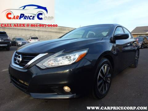 2018 Nissan Altima for sale at CarPrice Corp in Murray UT