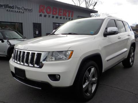 2012 Jeep Grand Cherokee for sale at Roberti Automotive in Kingston NY