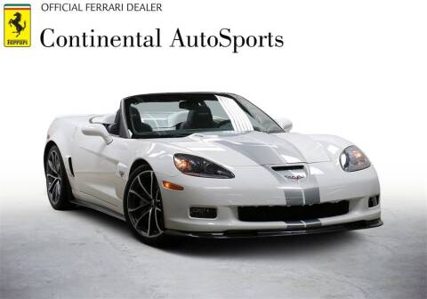 2013 Chevrolet Corvette for sale at CONTINENTAL AUTO SPORTS in Hinsdale IL