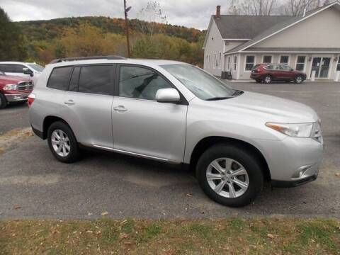 2011 Toyota Highlander for sale at Bachettis Auto Sales in Sheffield MA