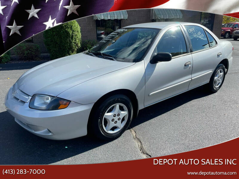 2003 Chevrolet Cavalier for sale at Depot Auto Sales Inc in Palmer MA