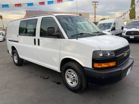 2018 Chevrolet Express Cargo for sale at Auto Wholesale Company in Santa Ana CA