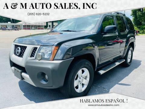 2011 Nissan Xterra for sale at A & M Auto Sales, Inc in Alabaster AL