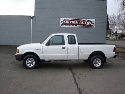 2003 Ford Ranger for sale at Motion Autos in Longview WA