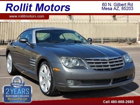 2004 Chrysler Crossfire for sale at Rollit Motors in Mesa AZ