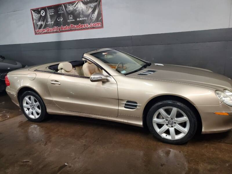 2003 Mercedes-Benz SL-Class for sale at Quality Auto Traders LLC in Mount Vernon NY