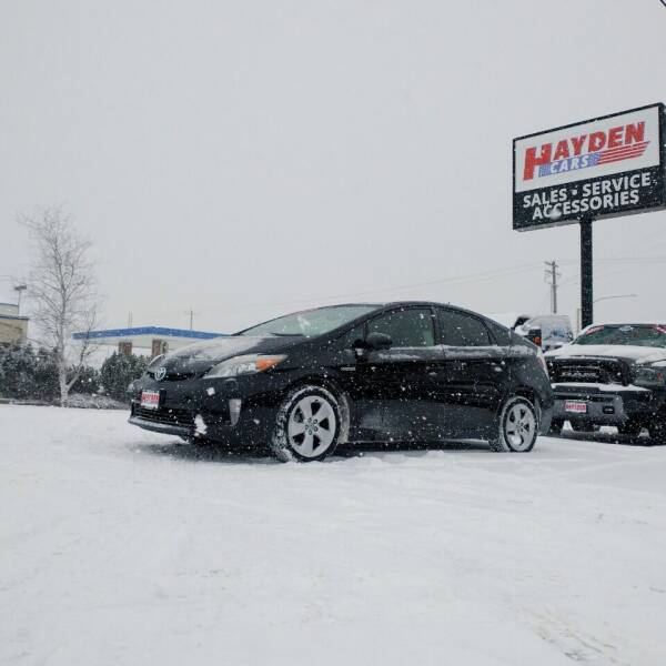 2013 Toyota Prius for sale at Hayden Cars in Coeur D Alene ID