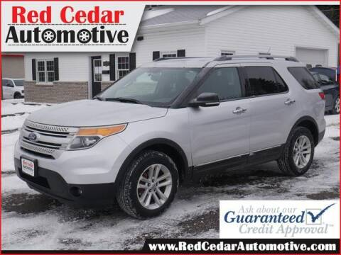 2011 Ford Explorer for sale at Red Cedar Automotive in Menomonie WI